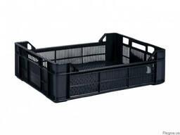 Ящик 600 Х 400 Х 170 / 130 черный