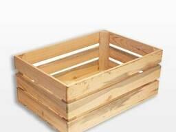 Ящик деревянный 60х40х25см