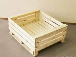 Ящик деревянный для груши, контейнер для груши