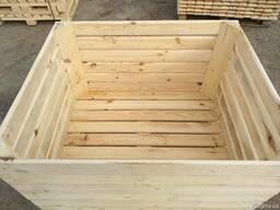 Ящик для яблок, контейнер для яблок