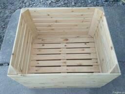 Ящик для яблок, контейнер яблочный - фото 4
