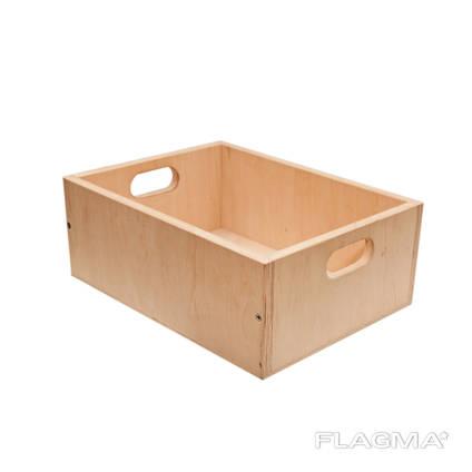 Ящик из фанеры, органайзер для хранения