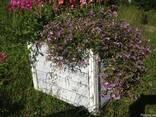 Ящик,контейнер,горшок садовый напольный для цветов - фото 3