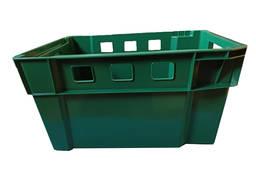 Ящик пластиковий тип М50 580х400х300 мм конусний вторинний