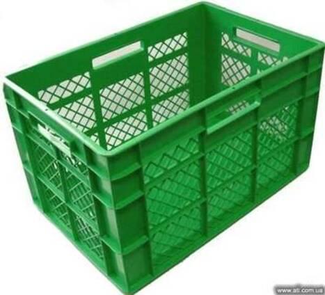 Ящик пластиковый для хлеба, мяса, овощей, заморозки