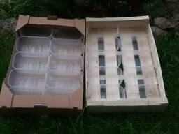 Ящик из шпона под клубнику ( транспортировочный )