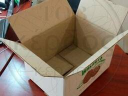 Ящики для грецкого ореха из гофрокартона