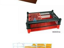 Ящики для перевозки курей, бройлера, курчат