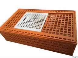 Клітка, ящики для перевезен курей, бройлерів, курчат, перепі