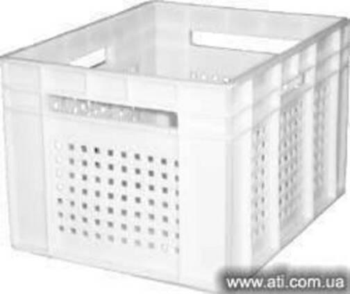 Ящики пластиковые для молока, сыров, йогуртов, других молочн