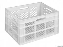 Пищевой пластиковый ящик хлебный 600 x 400 x 350 купить