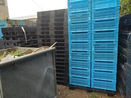 Ящики пластиковые ; Поддоны пластиковые