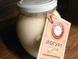 Йогурт фитнес из козьего молока