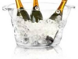 Ёмкость для шампанского - прозрачная 470x290x230