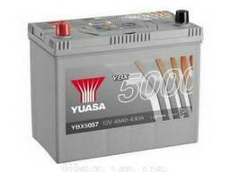 Yuasa 12V 48Ah Silver High Performance Battery Japan YBX5057 (левый +)