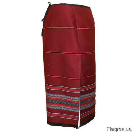 Юбка плахта. украинская, женская. национальная одежда