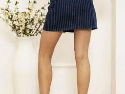 Юбка женская 129R004 цвет Синий