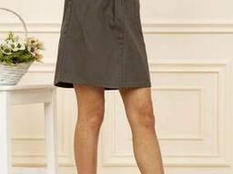 Юбка женская 129R005-1 цвет Хаки