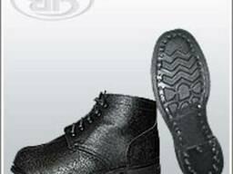 Юфтевые ботинки