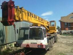 З/ч на Автокраны и продам КС-6471. г/п-40тн.