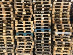 Забираем ремонтные поддоны со складов РЦ
