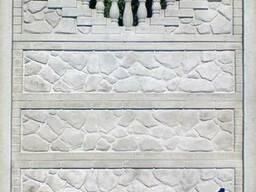 Забор бетонный наборной в Чернигове