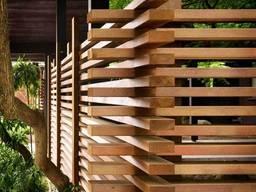 Забор деревянный, ограждения под ключ