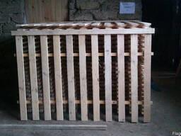 Забор деревянный сосновый