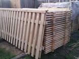 Забор деревянный сосновый - фото 3
