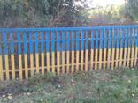 Забор деревянный сосновый - фото 5