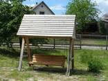 Забор деревяный - фото 4
