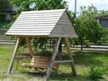 Забор деревяный - фото 5