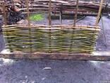Забор из лози - фото 4