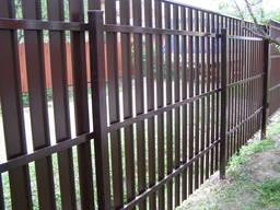 Забор из металлического штакетника Под ключ в Одессе и Обл