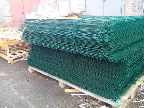 Забор из сетки высотой от 1,2м, со склада в Киеве