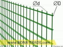 Забор из сварной сетки Бона Трейд
