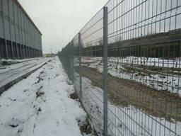 Забор из сварной сетки д6