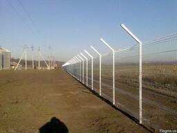 Забор из сварной сетки для прибрежной зоны