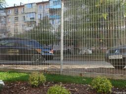 Забор из сварной сетки для участка