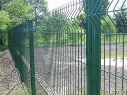 Забор из сварной сетки Секционный Ворота Калитка Установка