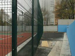 Забор из сварной сетки высотой 3м цельной панелью