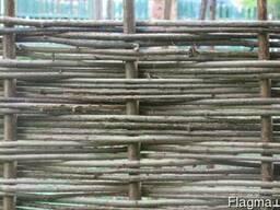 Забор с лищыны