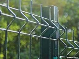 Забор металлический сварной оцинкованный
