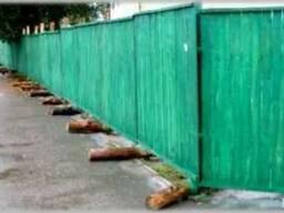 Забор 1000*2000 мм окрашенный