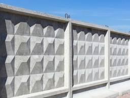 Забор железобетонный 2500х2500