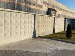 Забор железобетонный П6В 3980х2550х160мм наличие купить