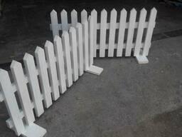 Заборчик садовый. Декоративное ограждения - фото 4