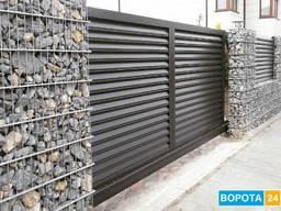Заборная секция Ограждения-Ворота-алюзи 1000Х2000 мм