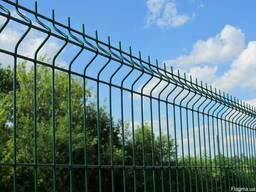 Сетка сварная Euro Fence для заборов 50х50 мм и 50х100 мм.