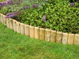 Заборы, деревянные заборчики , палисадники, ограждения для клумб, штахетник - фото 1